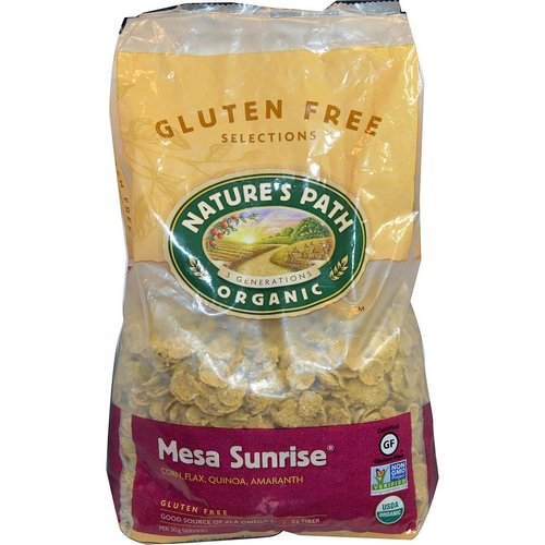 Nature's Path, Organic Mesa Sunrise, Gluten-Free Cereal, 1.65 lbs (750 g) فوائد