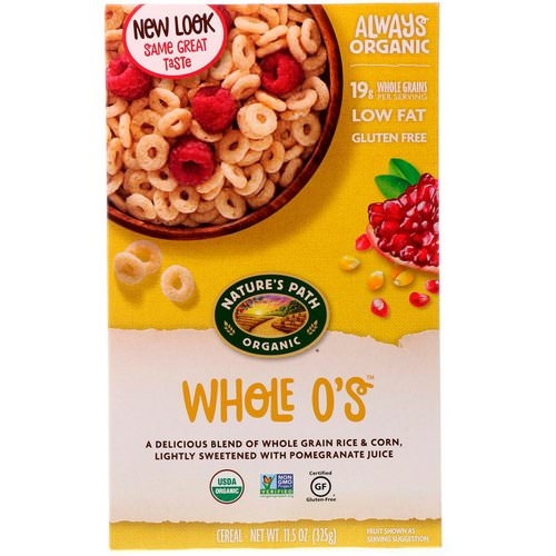 Nature's Path, Whole O's Cereal, 11.5 oz (325 g) فوائد