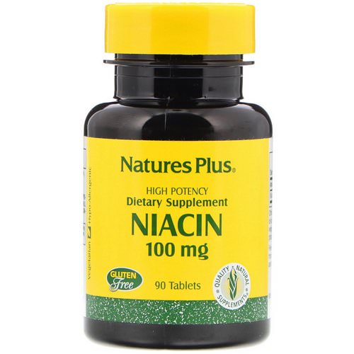 Nature's Plus, Niacin, 100 mg, 90 Tablets فوائد