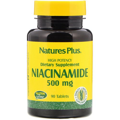 Nature's Plus, Niacinamide, 500 mg, 90 Tablets فوائد
