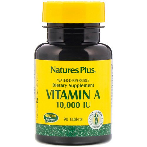 Nature's Plus, Vitamin A, 10,000 IU, 90 Tablets فوائد
