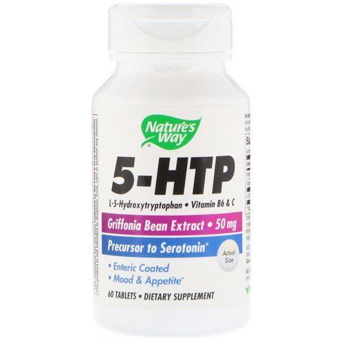 Nature's Way, 5-HTP, 60 Tablets فوائد