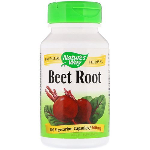 Nature's Way, Beet Root, 500 mg, 100 Vegetarian Capsules فوائد