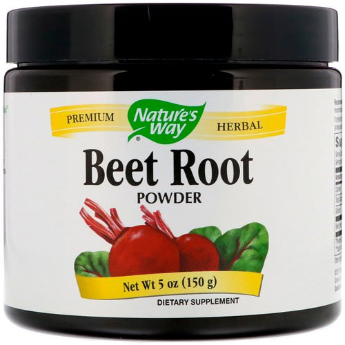Nature's Way, Beet Root Powder, 5 oz (150 g) فوائد