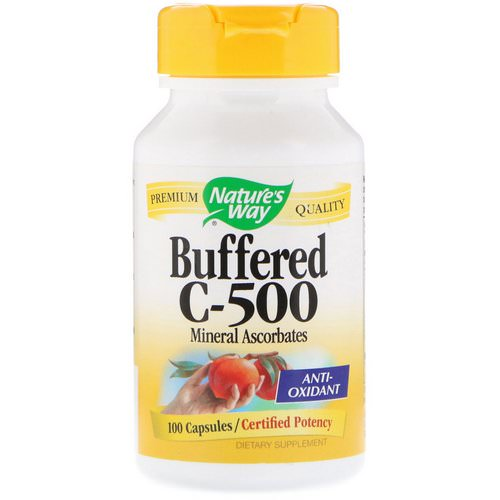 Nature's Way, Buffered C-500, 100 Capsules فوائد
