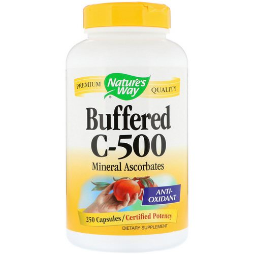 Nature's Way, Buffered C-500, 250 Capsules فوائد
