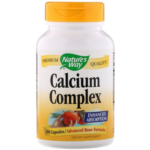 Nature's Way, Calcium Complex, 100 Capsules فوائد