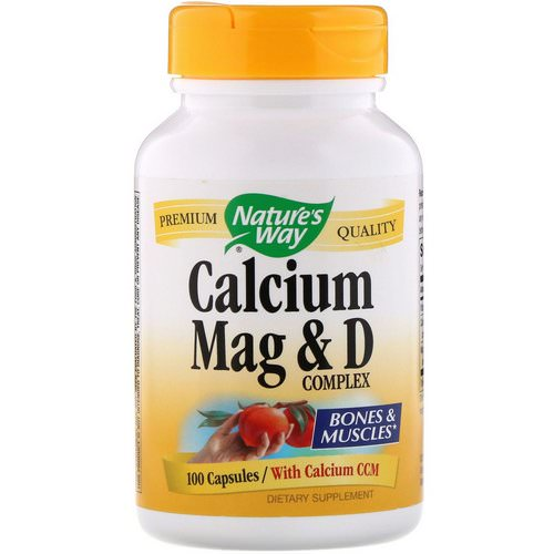 Nature's Way, Calcium Mag & D Complex, 100 Capsules فوائد