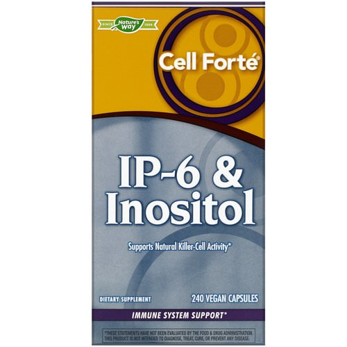 Nature's Way, Cell Forte, IP-6 & Inositol, 240 Vegan Capsules فوائد