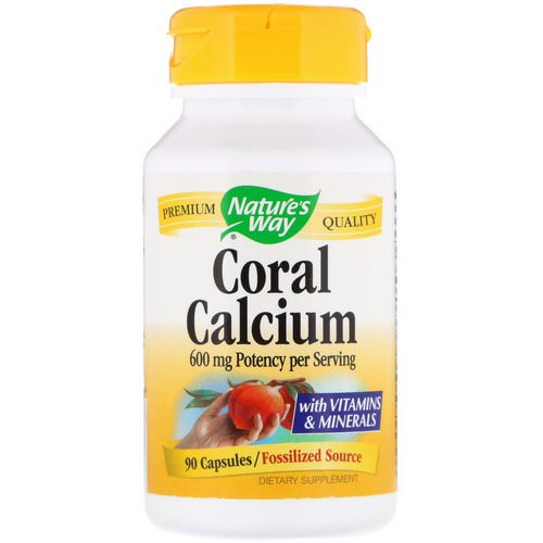 Nature's Way, Coral Calcium, 600 mg, 90 Capsules فوائد