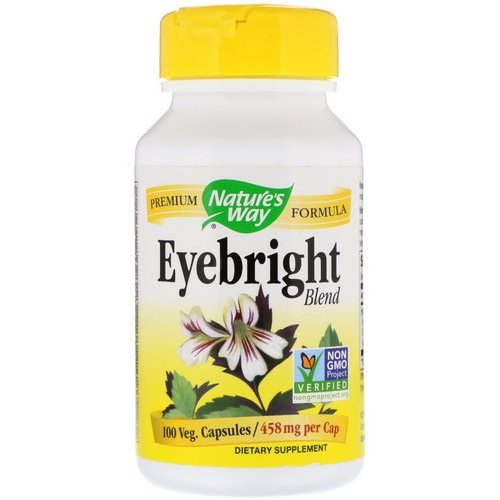 Nature's Way, Eyebright Blend, 458 mg, 100 Veg. Capsules فوائد
