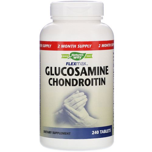 Nature's Way, FlexMax, Glucosamine Chondroitin, 240 Tablets فوائد