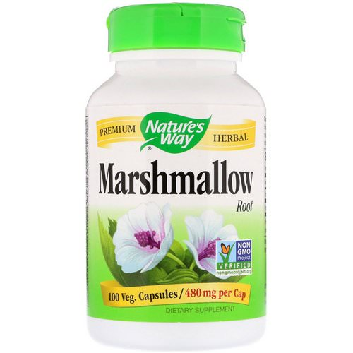Nature's Way, Marshmallow Root, 960 mg, 100 Vegan Capsules فوائد