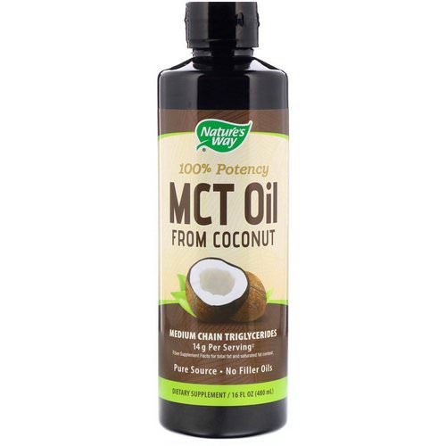 Nature's Way, MCT Oil, 16 fl oz (480 ml) فوائد