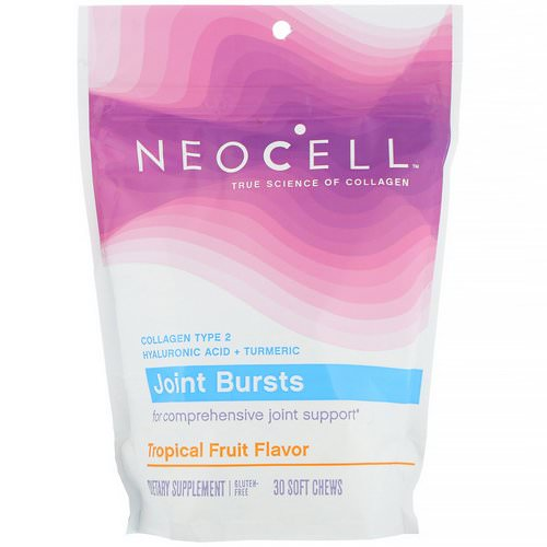 Neocell, Joint Bursts, Tropical Fruit, 30 Soft Chews فوائد