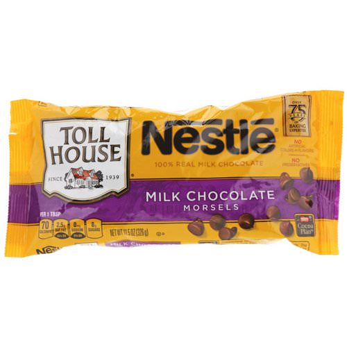 Nestle Toll House, Milk Chocolate Morsels, 11.5 oz (326 g) فوائد