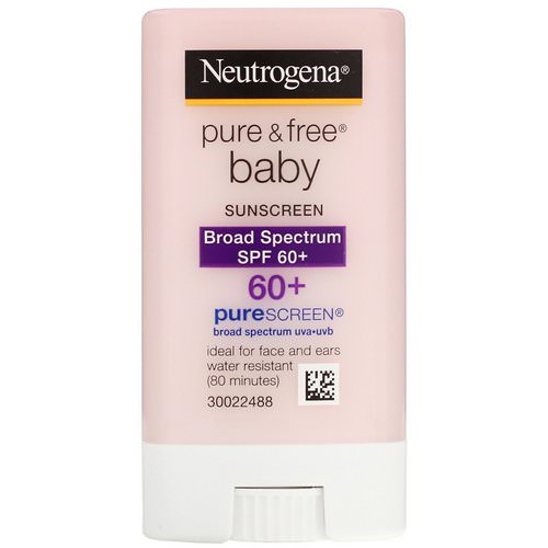 Neutrogena, Pure & Free Baby Sunscreen, SPF 60+, 0.47 oz (13 g) فوائد