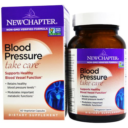 New Chapter, Blood Pressure Take Care, 60 Vegetarian Capsules فوائد