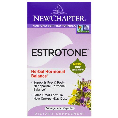 New Chapter, Estrotone, 60 Vegetarian Capsules فوائد