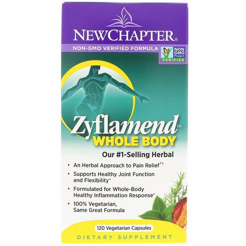New Chapter, Zyflamend Whole Body, 120 Vegetarian Capsules فوائد