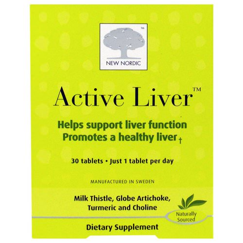 New Nordic, Active Liver, 30 Tablets فوائد