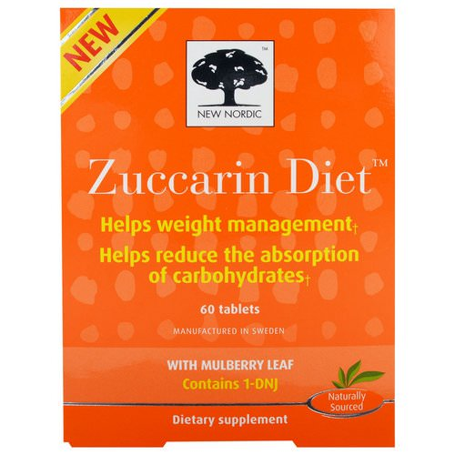 New Nordic, Zuccarin Diet, 60 Tablets فوائد