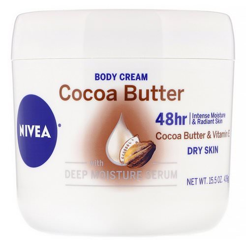 Nivea, Body Cream, Cocoa Butter, 15.5 oz (439 g) فوائد