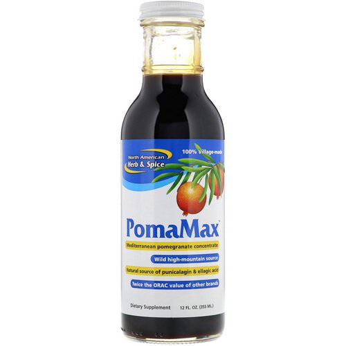 North American Herb & Spice, PomaMax, Mediterranean Pomegranate Concentrate, 12 fl oz (355 ml) فوائد
