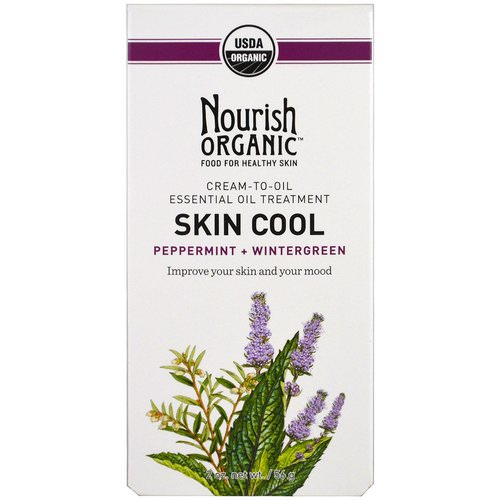 Nourish Organic, Skin Cool, Peppermint + Wintergreen, 2 oz (56 g) فوائد