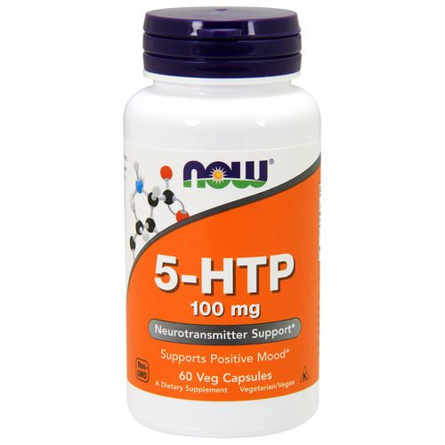 Now Foods, 5-HTP, 100 mg, 60 Veg Capsules فوائد