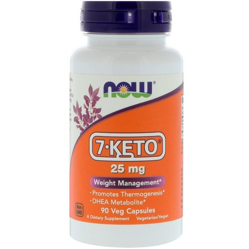 Now Foods, 7-KETO, 25 mg, 90 Veg Capsules فوائد