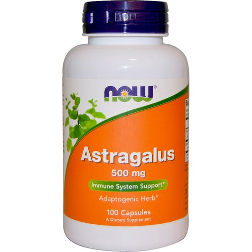 Now Foods, Astragalus, 500 mg, 100 Capsules فوائد