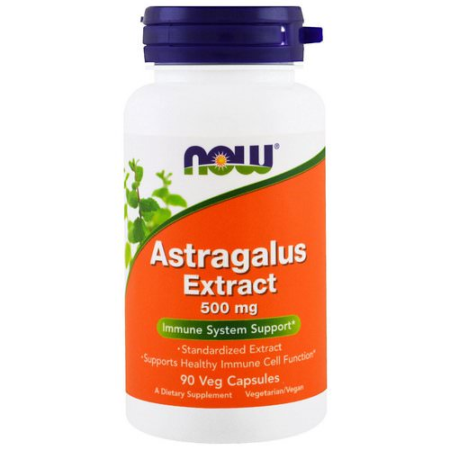 Now Foods, Astragalus Extract, 500 mg, 90 Veggie Caps فوائد