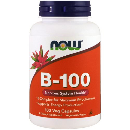 Now Foods, B-100, 100 Veg Capsules فوائد