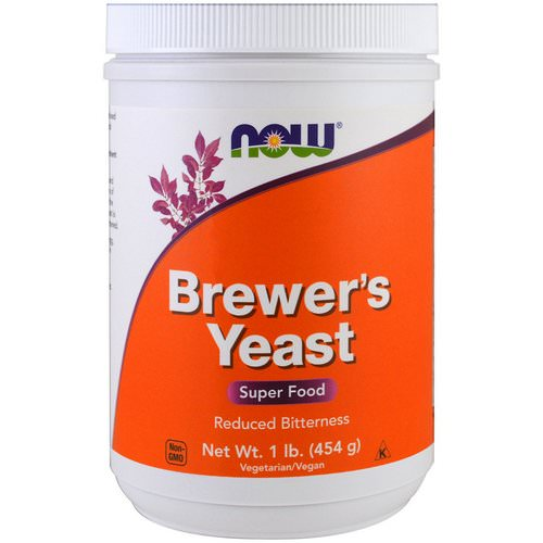 Now Foods, Brewer's Yeast, Super Food, 1 lb (454 g) فوائد