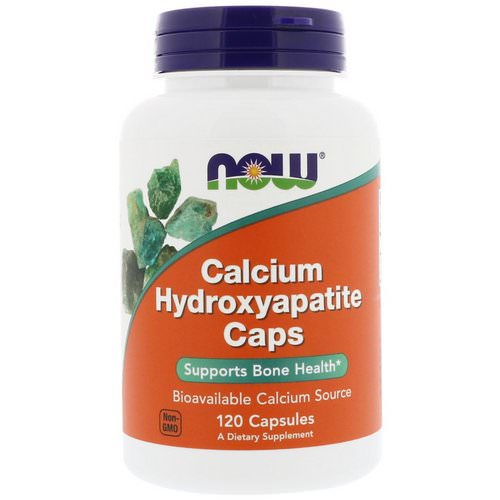 Now Foods, Calcium Hydroxyapatite Caps, 120 Capsules فوائد
