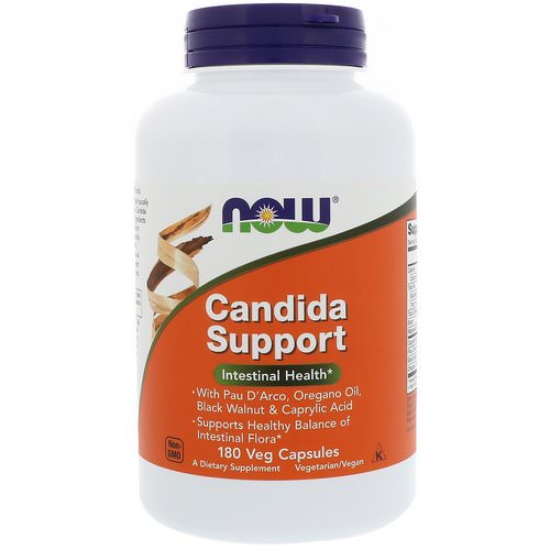 Now Foods, Candida Support, 180 Veg Capsules فوائد