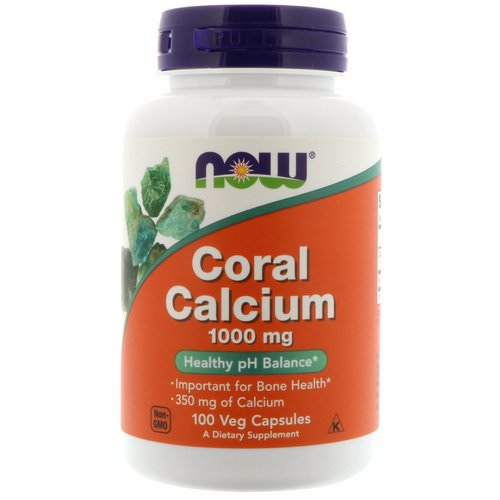Now Foods, Coral Calcium, 1,000 mg, 100 Veg Capsules فوائد