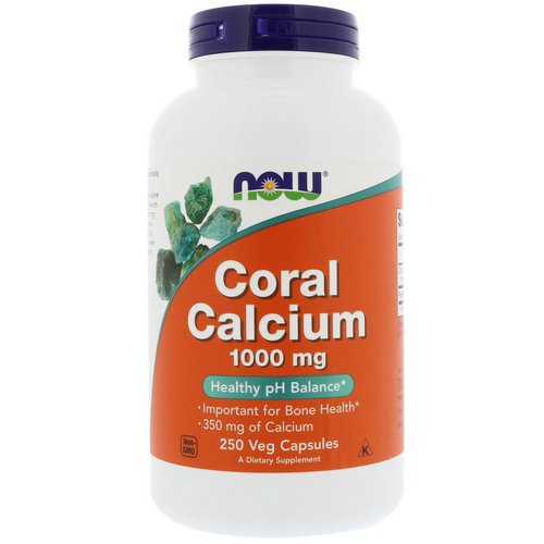 Now Foods, Coral Calcium, 1,000 mg, 250 Veg Capsules فوائد