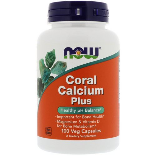 Now Foods, Coral Calcium Plus, 100 Veg Capsules فوائد