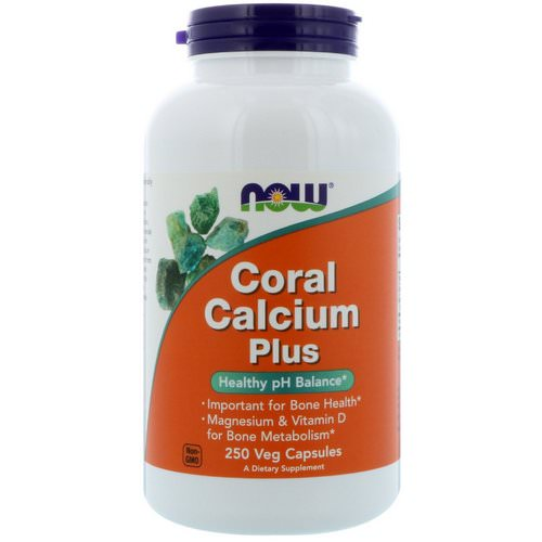 Now Foods, Coral Calcium Plus, 250 Veg Capsules فوائد