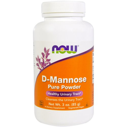 Now Foods, D-Mannose Pure Powder, 3 oz (85 g) فوائد