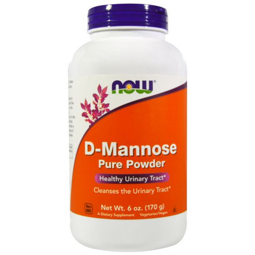 Now Foods, D-Mannose Pure Powder, 6 oz (170 g) فوائد