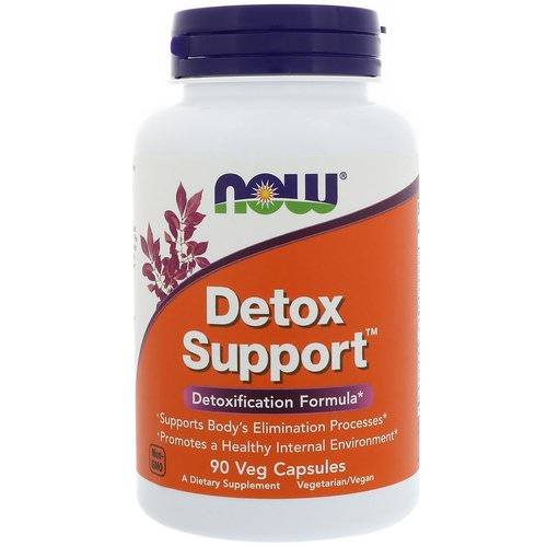 Now Foods, Detox Support, 90 Veg Capsules فوائد