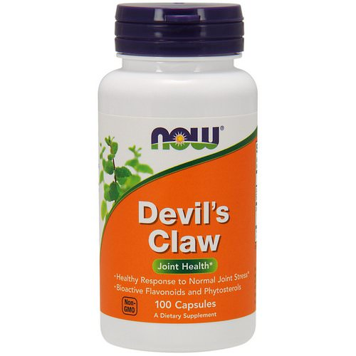Now Foods, Devil's Claw, 100 Capsules فوائد
