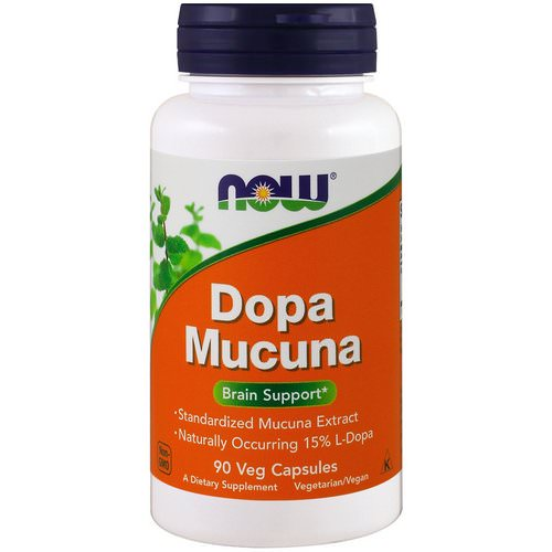 Now Foods, Dopa Mucuna, 90 Veg Capsules فوائد