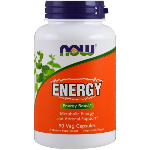 Now Foods, Energy, 90 Veggie Caps فوائد