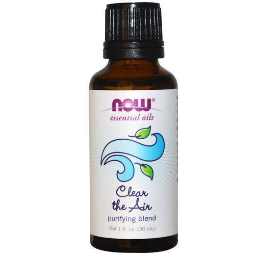 Now Foods, Essential Oils, Clear the Air, Purifying Blend, 1 fl oz (30 ml) فوائد