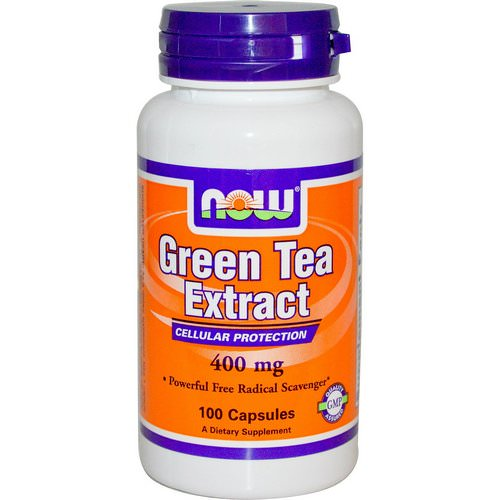 Now Foods, Green Tea Extract, 400 mg, 100 Capsules فوائد