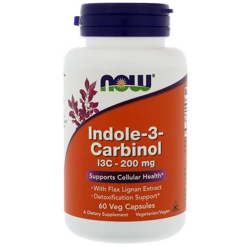 Now Foods, Indole-3-Carbinol, 200 mg, 60 Veg Capsules فوائد